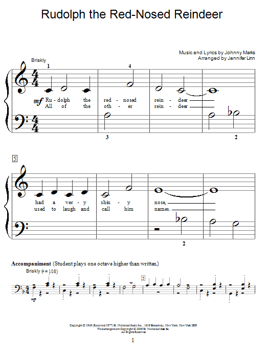 Solo Rudolph Reindeer Nosed Red Tenor Sax
