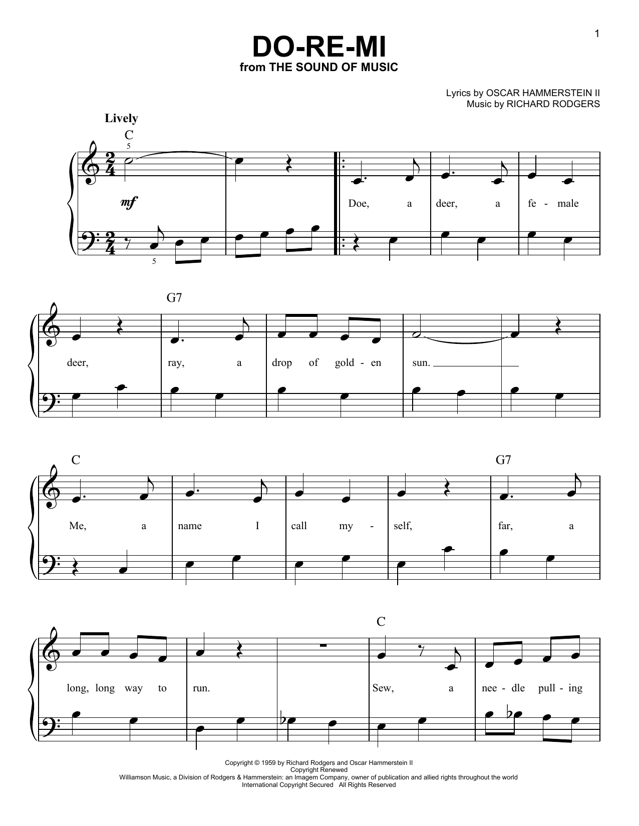 Edelweiss Chords And Notes