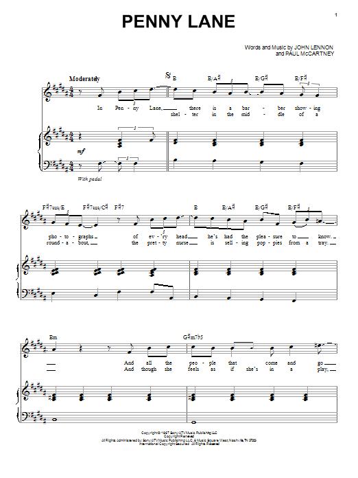 Beatles Something Piano Chords