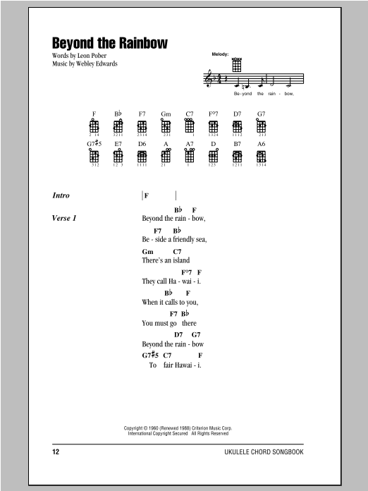 Chords Songs Kui Lee