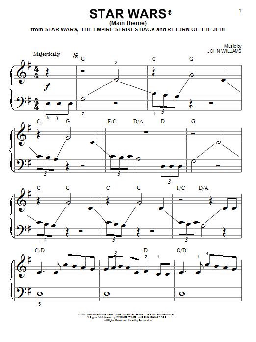 Notes Star Letter Imperial Piano March Wars