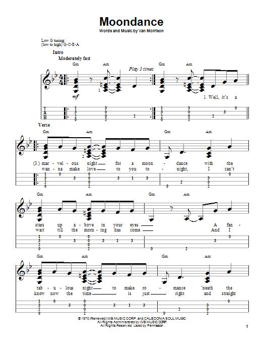 Van Morrison Moondance Guitar Chords Gallery - guitar chords finger ...
