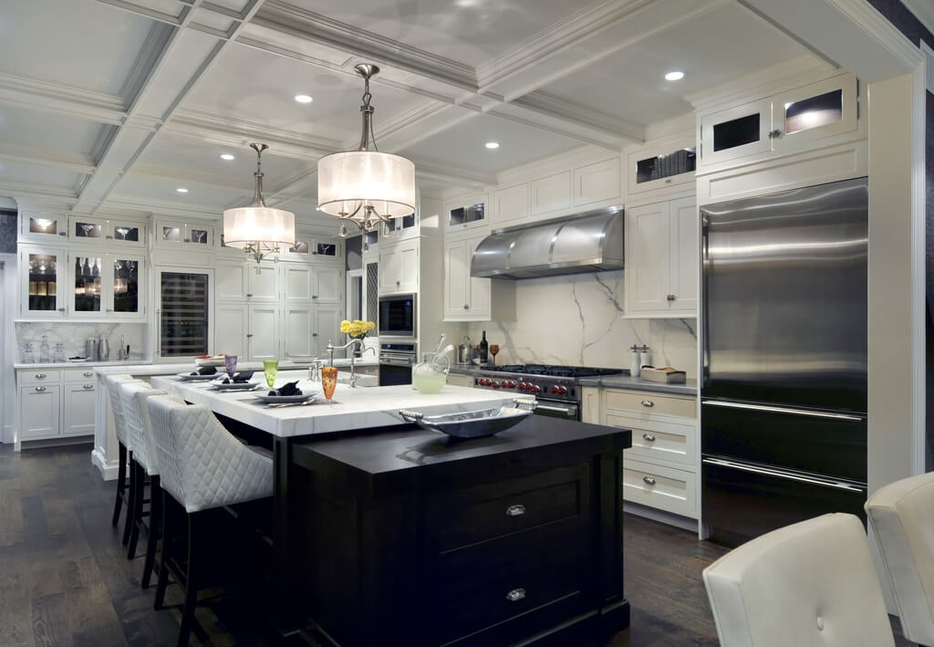 Luxury White Kitchen Design