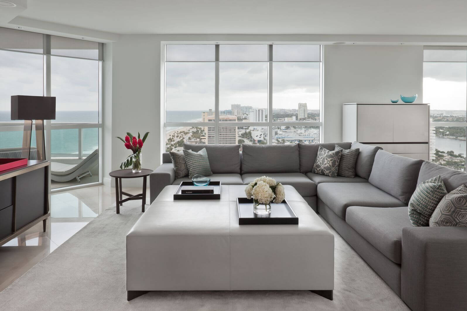 Small Living Room Ottoman