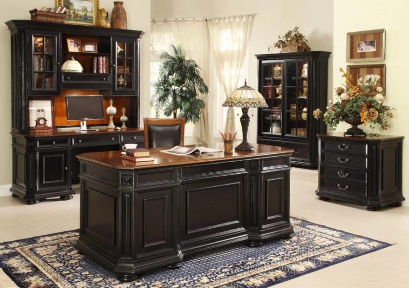 17 Different Types of Desks  2018 Desk Buying Guide  The executive desk is the big king of the home office world  With loads of