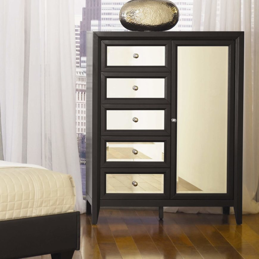 Tall Narrow White Dresser
