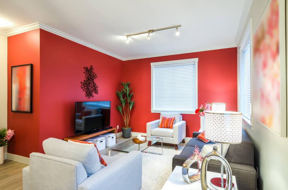 Gray Color Scheme Living Room