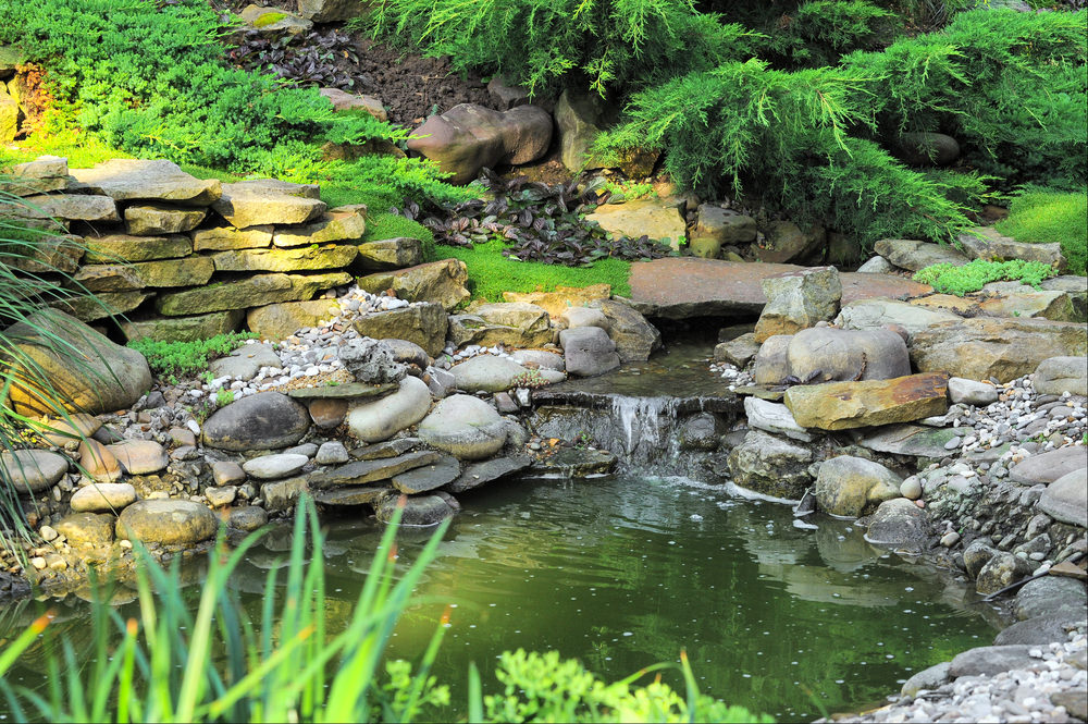 Different Color Rocks Landscaping