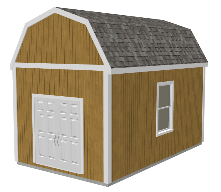 Gambrel Shed Plans
