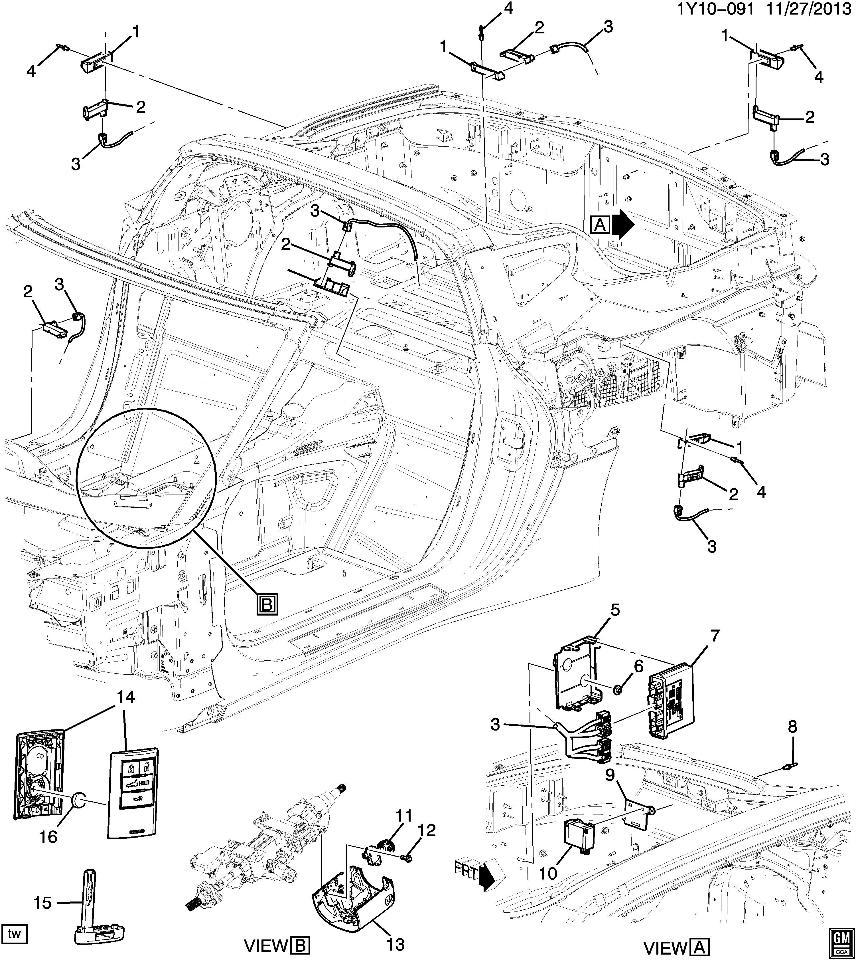 2014 2015 chevrolet corvette c7 convertible key fob new oem empty goldwing parts diagram 2014 2015