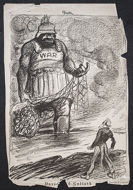 Library Newsroom   Research Guides at University of New Mexico         World War I  Several scrapbooks of Morris cartoons  covering topics  from Prohibition to presidential elections  are available in the W  C   Morris Papers