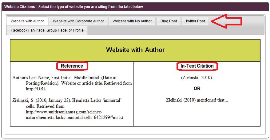Apa Reference Page Format Generator