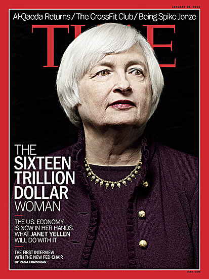 Yellen TIME cover