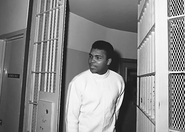 Ali in prison