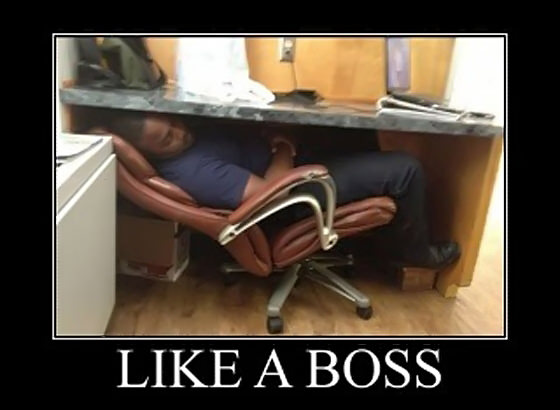 sleep like a boss