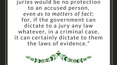 Lysander Spooner jury nullification laws of evidence