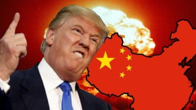 Donald Trump versus China