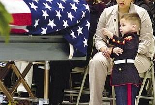 Marine kid