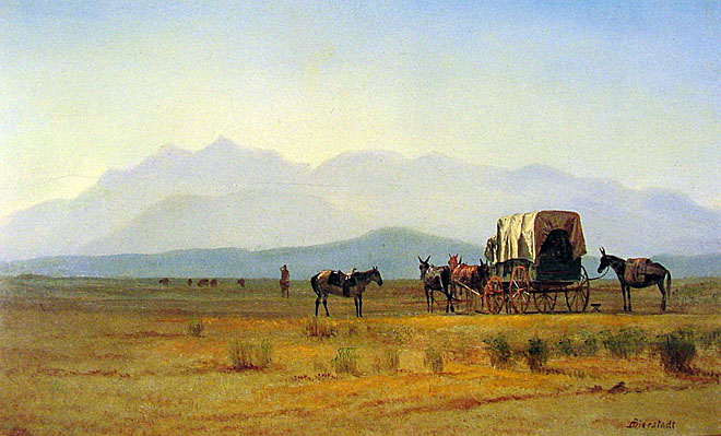 Surveyors_Wagon_in_the_Rockies_ca_1859