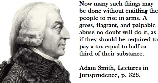 """Adam Smith Discussing the """"1/3 Test"""""""