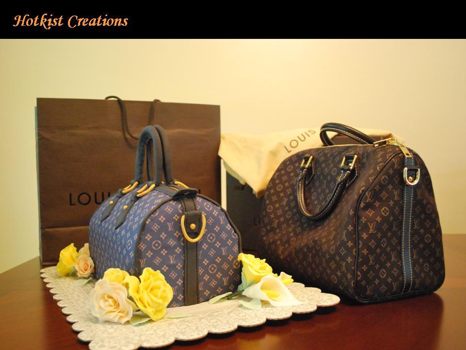 Louis Vuitton Cake Obsession Lollipuff