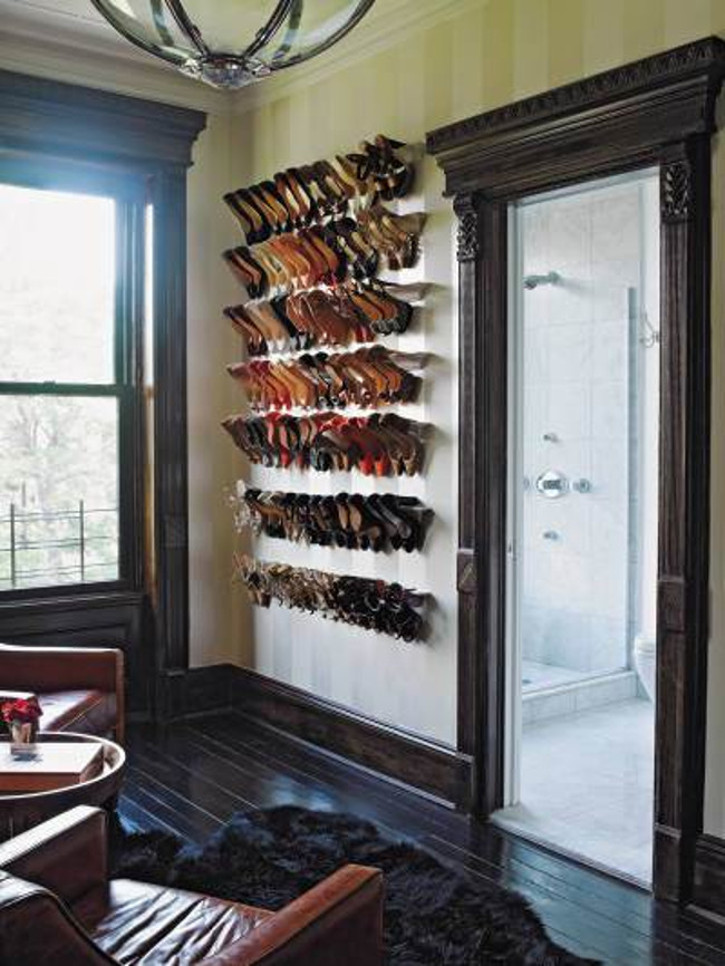 Table Shoe Rack