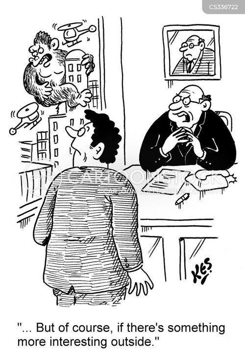 Clerical Radiology Cartoon