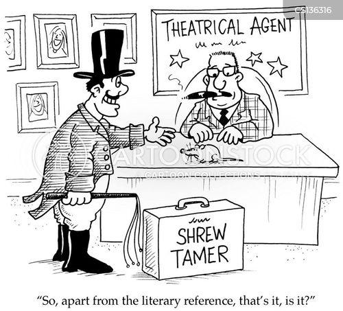 Literary Allusion Cartoons