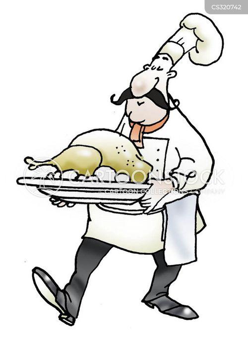 Hat Cartoon Chef Chicken