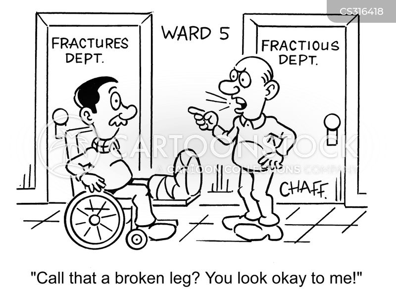 Fracture Cartoons and Comics - funny pictures from ...