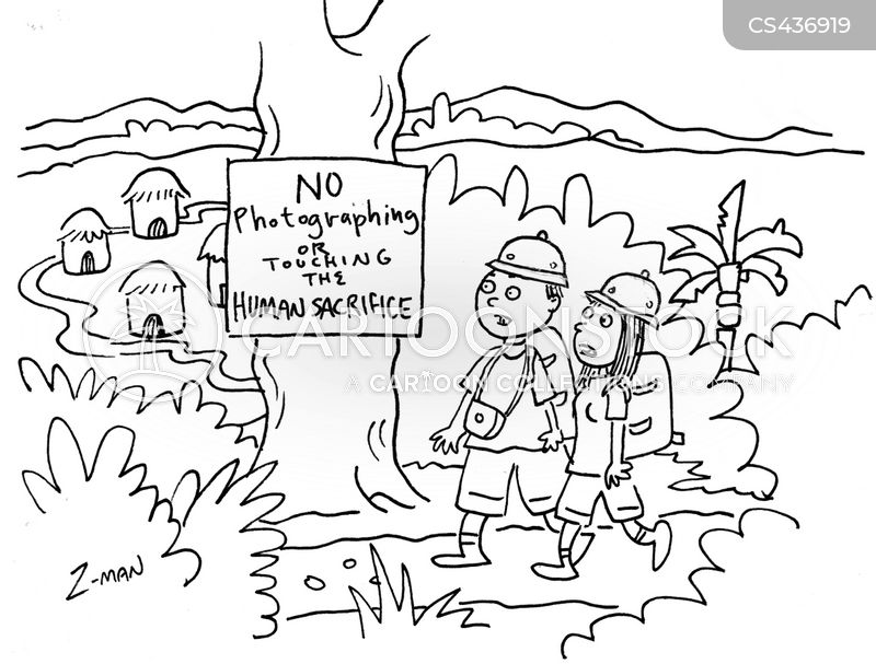 Human Sacrifice Cartoons And Comics Funny Pictures From