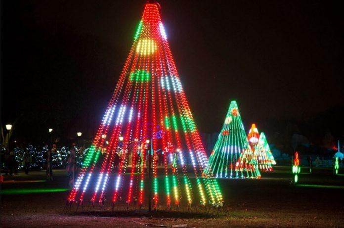 Zoo Lights Chicago Brookfield