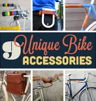 Roundup  9 Unique  Stylish Bicycle Accessories   Man Made DIY     Roundup  9 Unique  Stylish Bicycle Accessories   Man Made DIY   Crafts for  Men