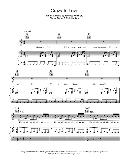Piano Sheet Music Ellie Goulding Love Me You Do