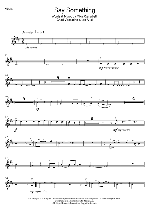 Magnificent Say Something A Great Big World Piano Chords Pattern