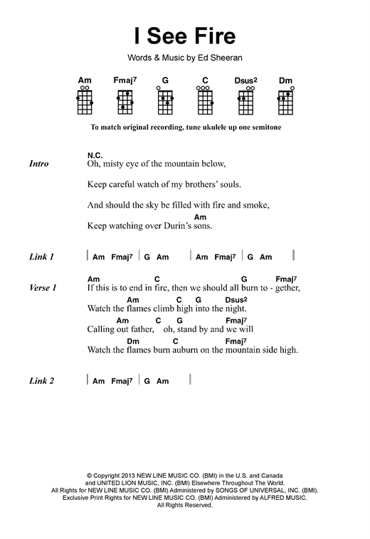 Ed Sheeran Photograph Chords