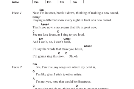 Imágenes de You Dont Have To Say You Love Me Lyrics Chords