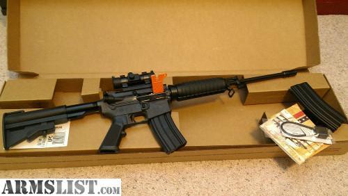 Armslist For Sale Nib Bushmaster C15 16 Ar 15 Red Dot