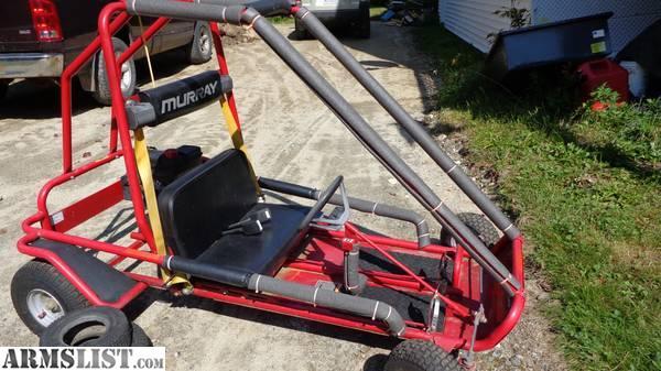 Armslist For Sale Trade 6hp Go Kart Beautiful Shape