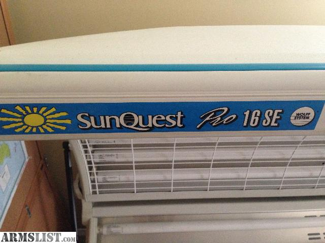 Armslist For Sale Trade Tanning Bed Sunquest Pro 16se