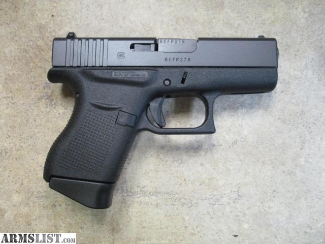 ARMSLIST - For Sale: Glock Model 43 9mm Single Stack Semi ...