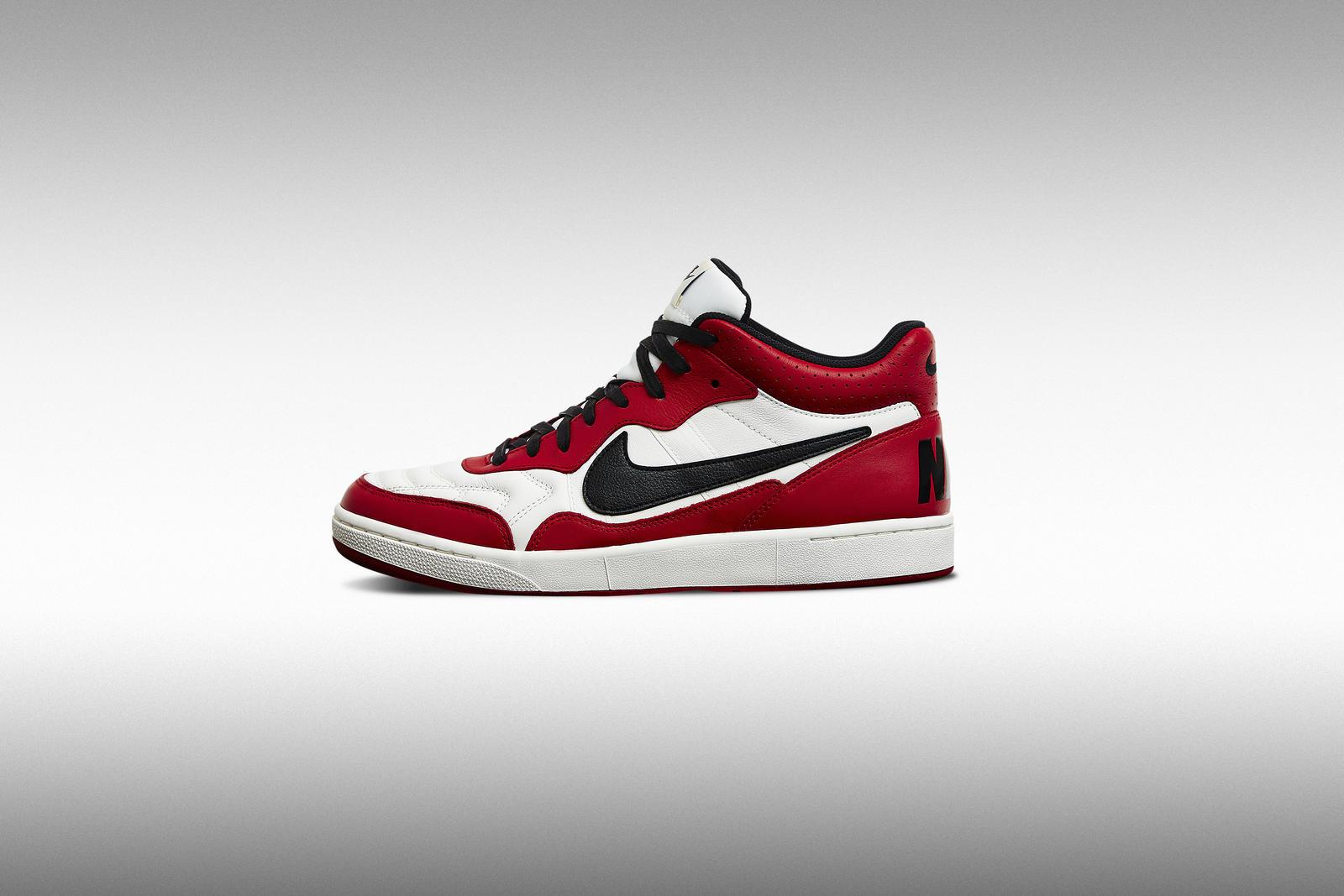 Tongue Nike Hi Sb White