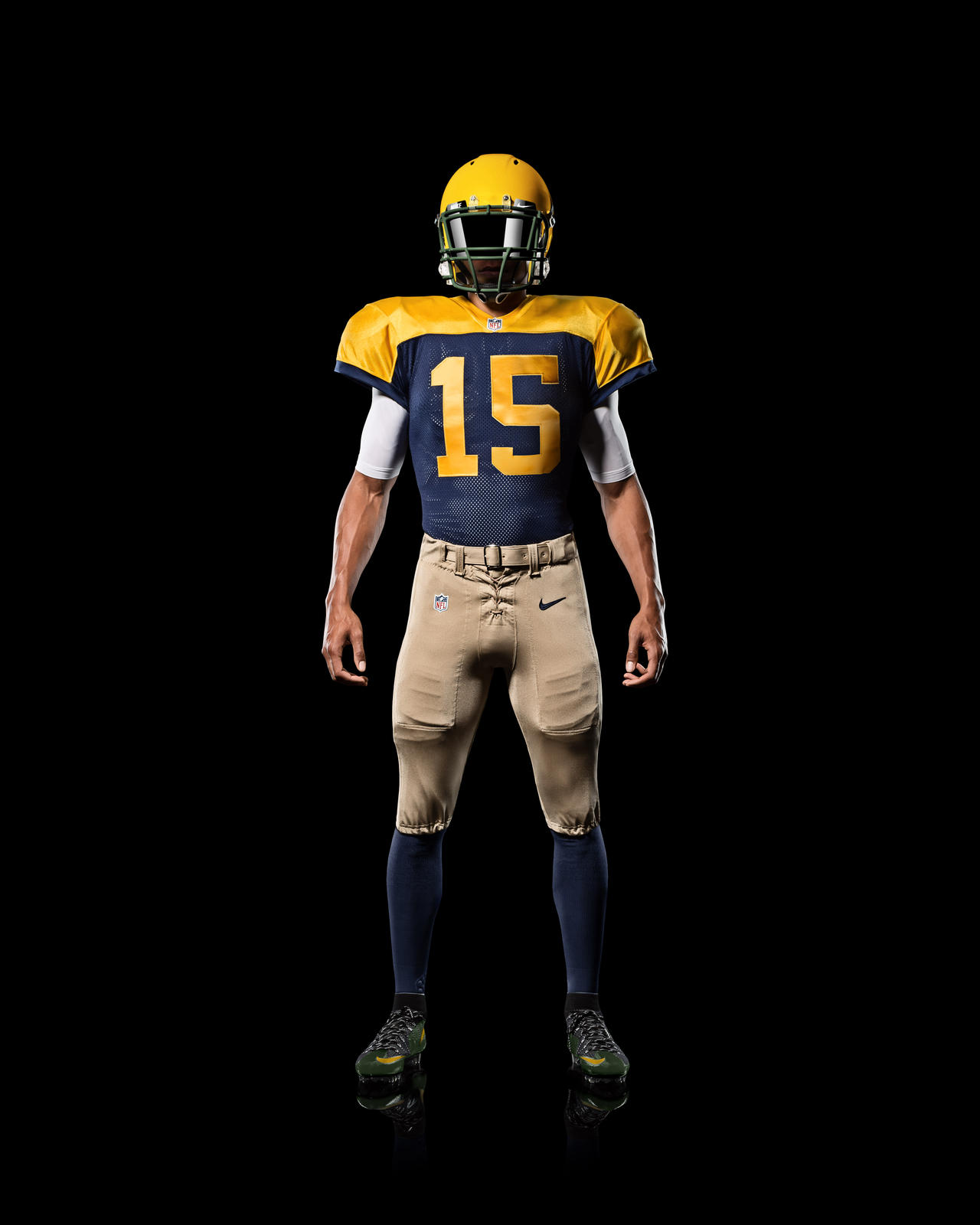 Faded Football Uniforms