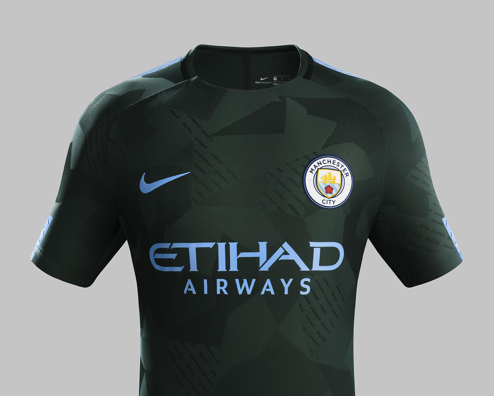 Blue Black Football Jersey