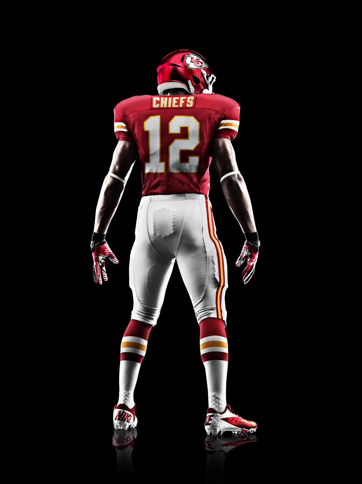 Kansas City Chiefs Nike Shoes