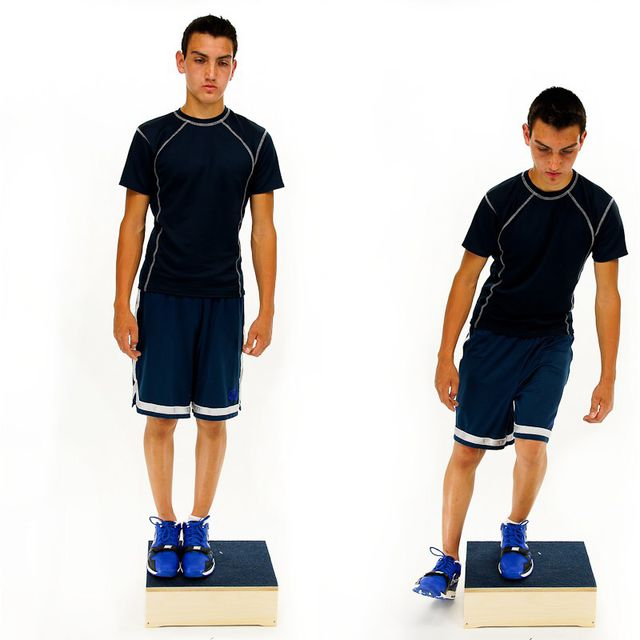 Step Down - lateral - Exercise How-to - Workout Trainer by ...
