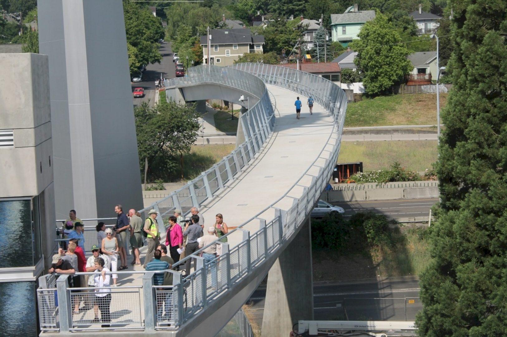 Lair Pedestrian Bridge Hill Portland Girder