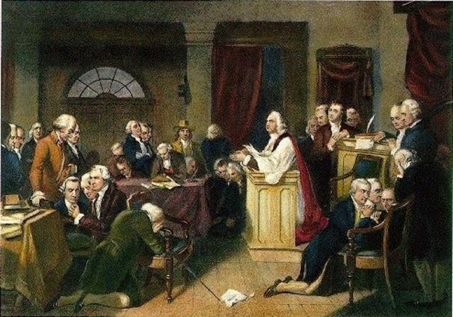 Great Compromise 1787 Cartoon