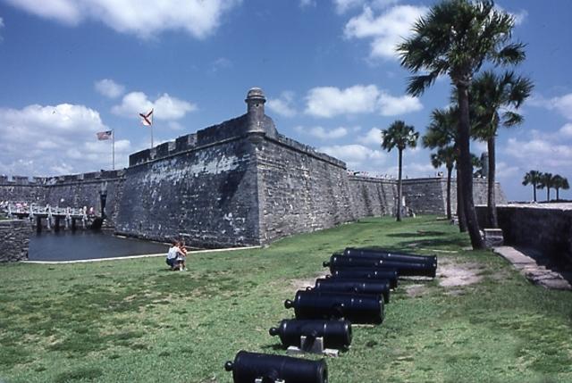 Timeline Augustine Florida History St