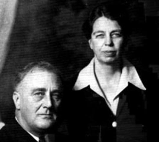 Volenteering Eleanor Roosevelt